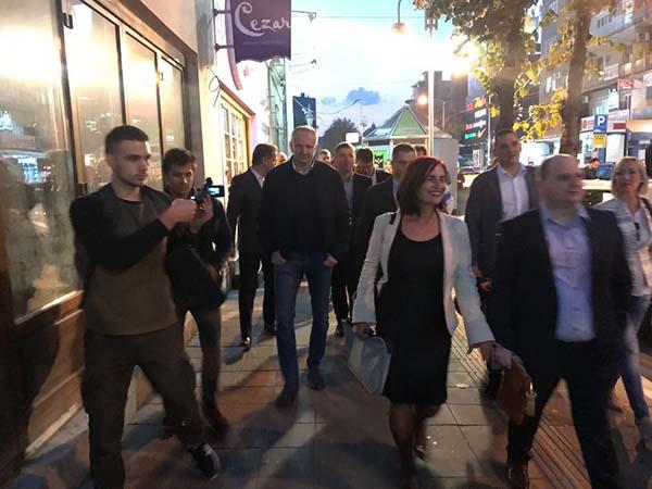 Šetnja Saveza za Srbiju u Nišu