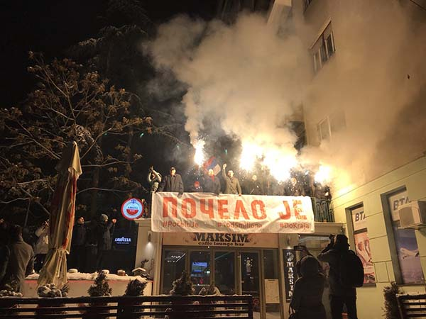 Beogradski protest