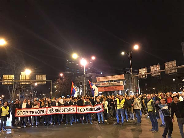 Protest u Nisu